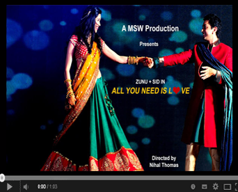 Zunu and SID Wedding film